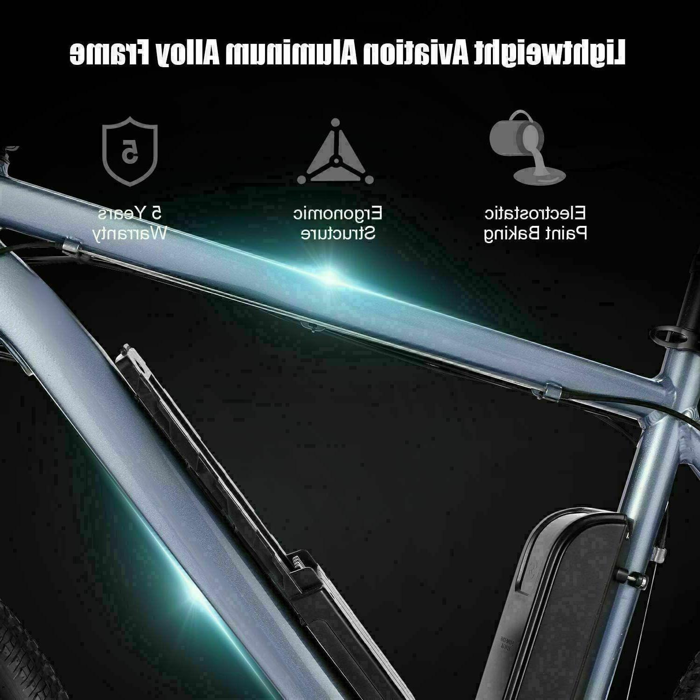 26'' Bicycle Bike Ebike 21 Speed W/ 52