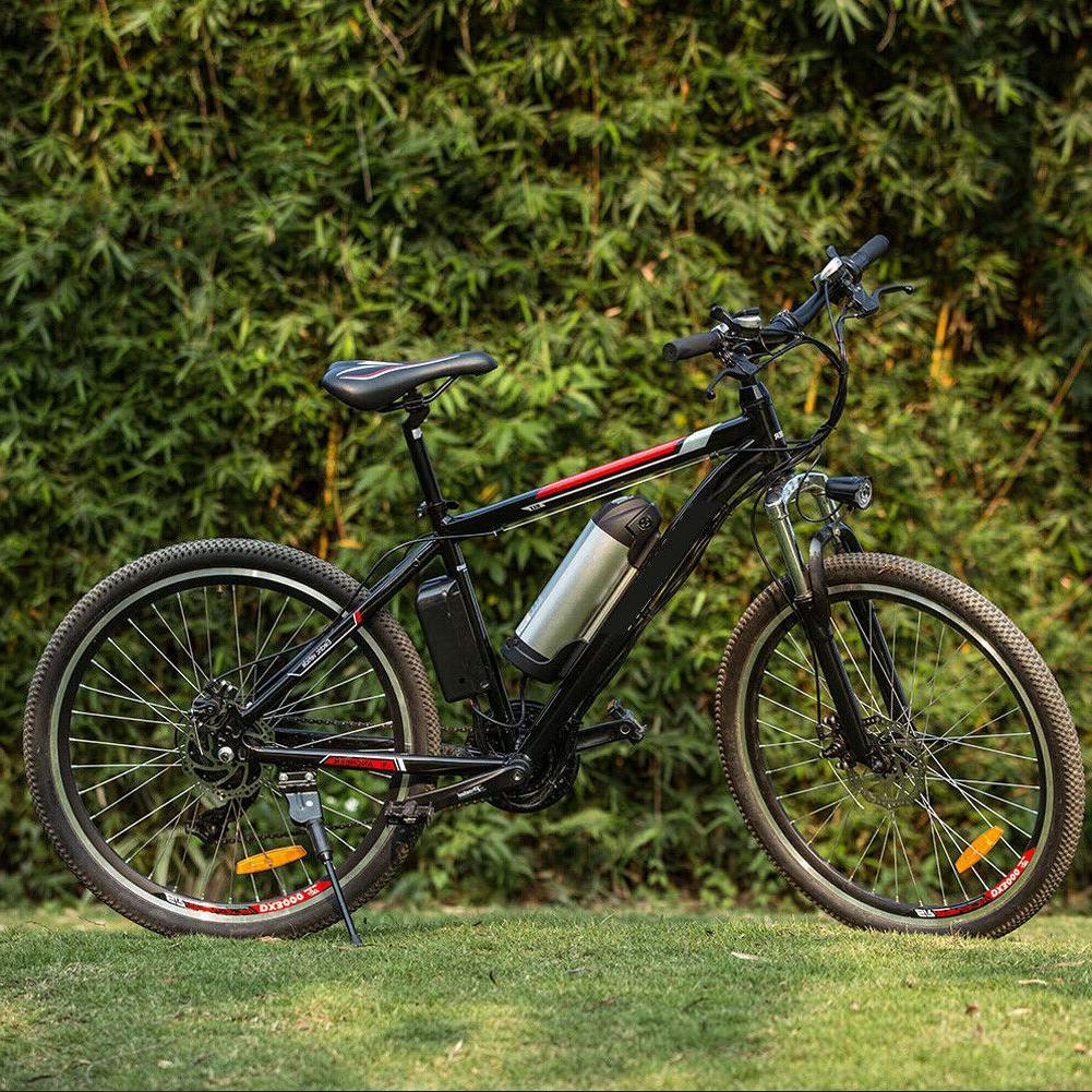 "26"" Power Plus Electric Mountain Bike 35km/h Shimano Bicycle"