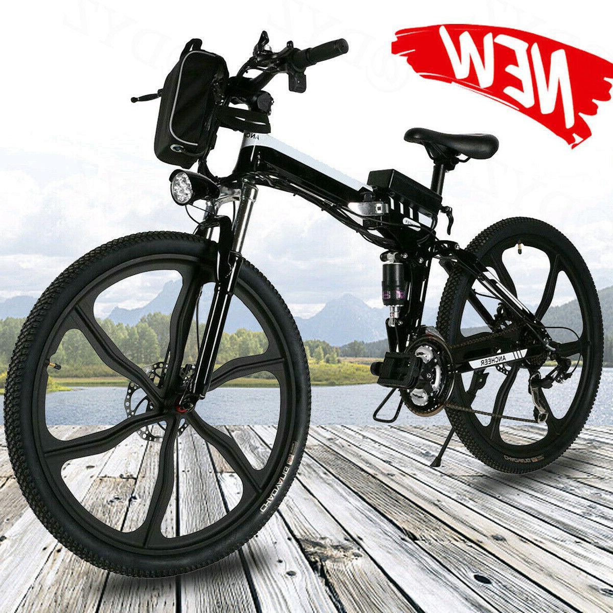26INCH Electric Bike Folding Mountain Bicycle E-Bike Classic