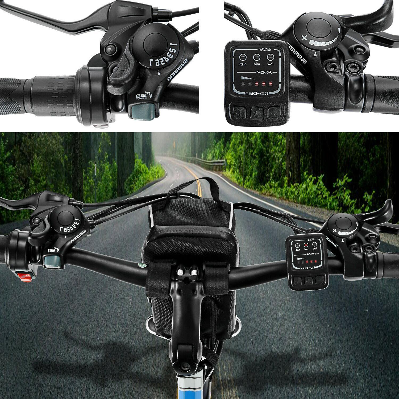 New Electric Mountain Bike,8Ah Li-Battery+ 21