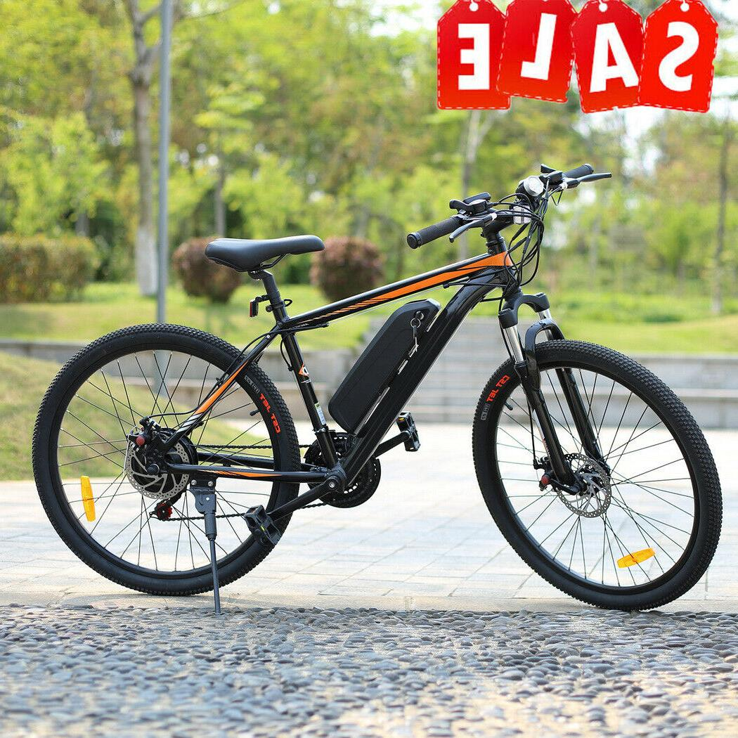 26INCH Electric Bicycle 350W 36V Li-Battery