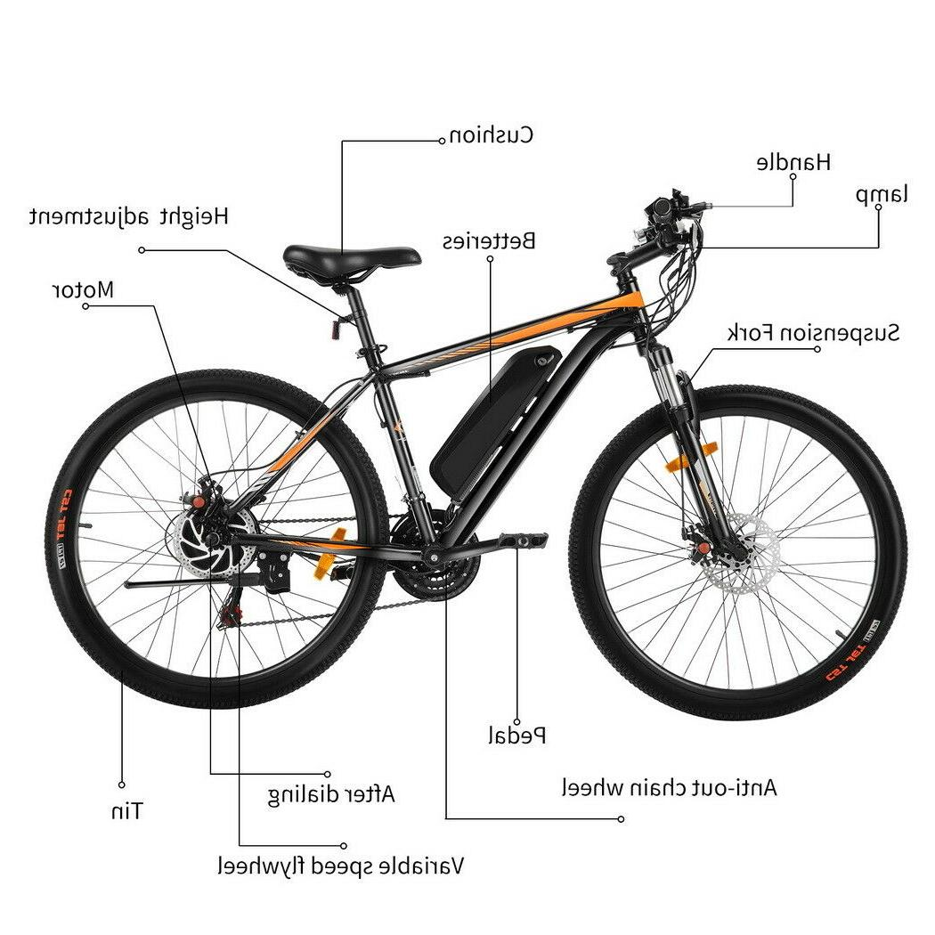 26INCH Electric Bike Bicycle SHIMANO 350W