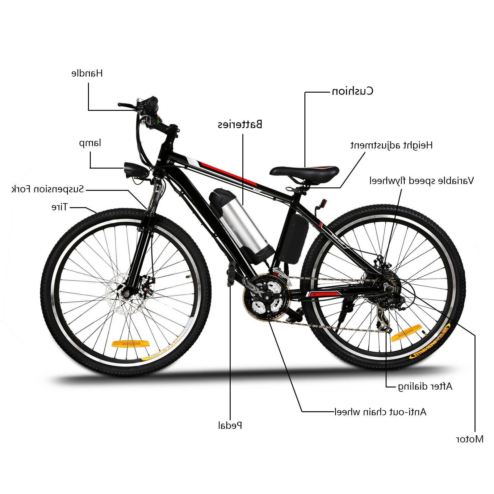 26 Electric Bike Adults, Electric Commuting Bike new