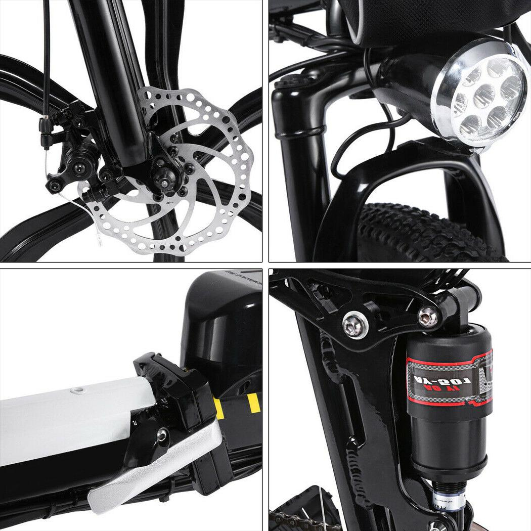 26INCH Electric Bike Folding Bicycle 21