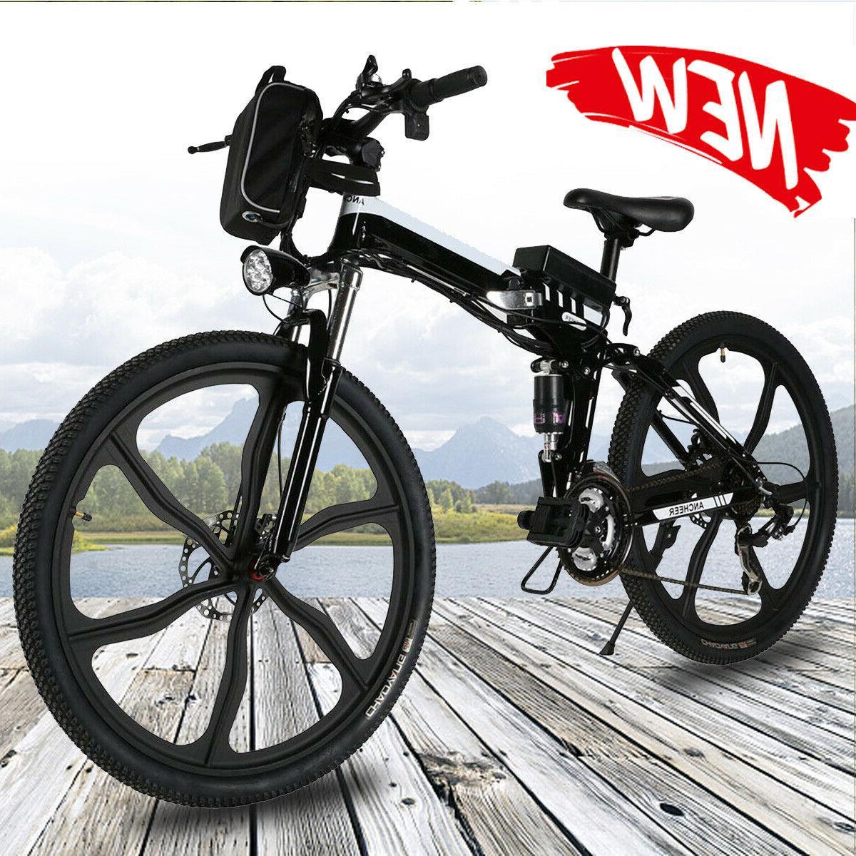 26inch electric bike mountain bike folding e
