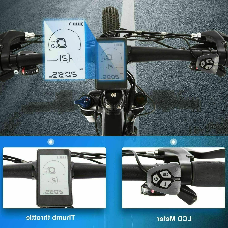 350W 27.5'' Electric Bike Speed Disc