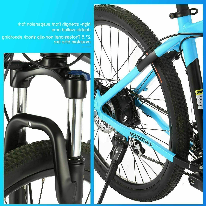 350W 27.5'' Electric Mountain Bike Disc E-Bike