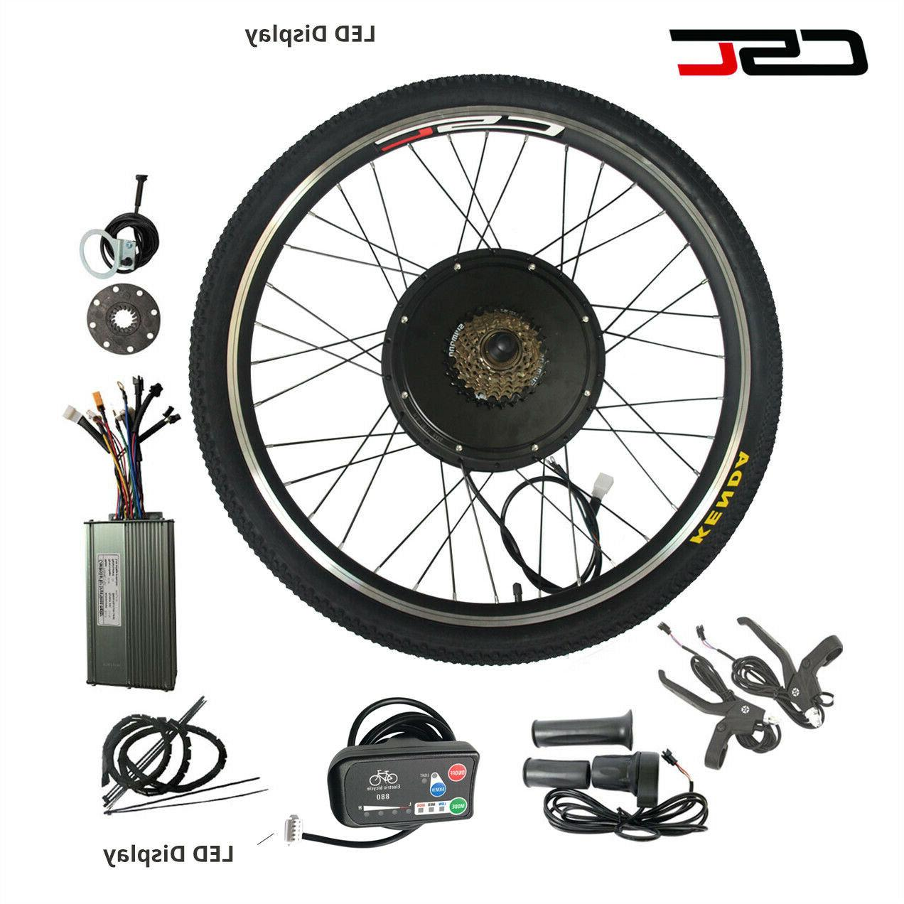 48V Bike Kit Anti-Charge Function