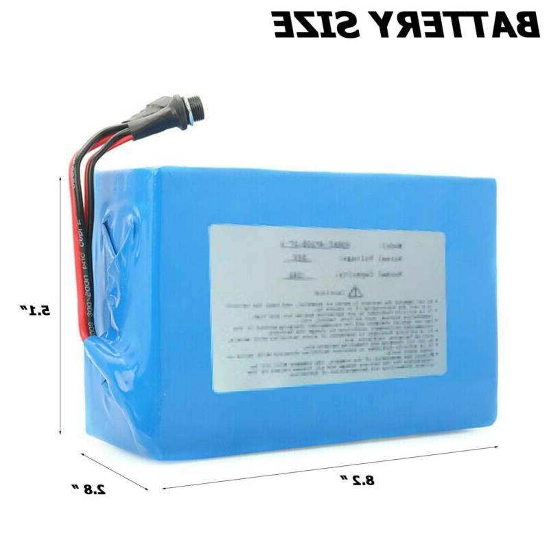36V 16Ah Lithium li-ion Battery Pack Bicycle charger