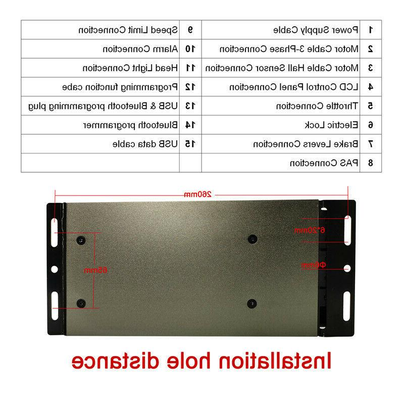 2500W-4000W 80A Sine Wave Sabvoton Controller LCD