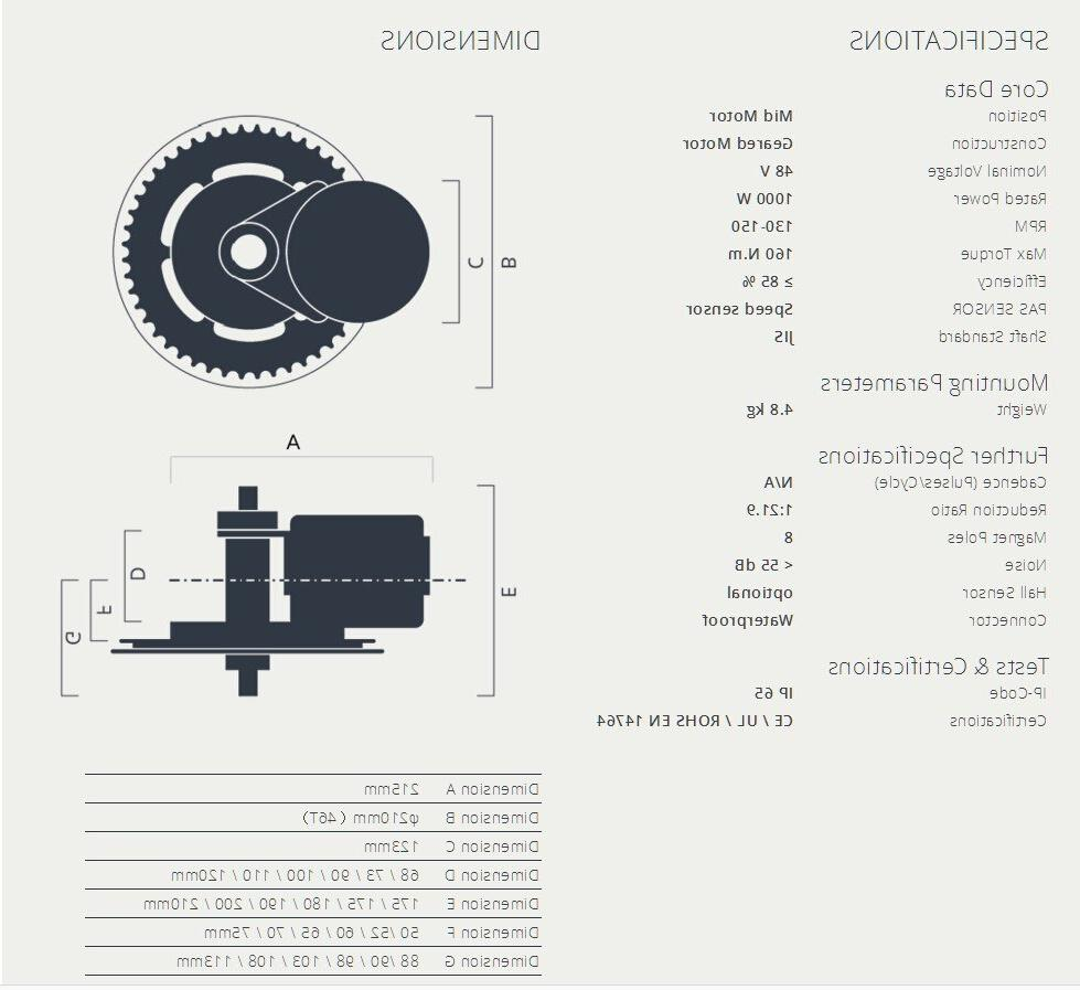 48V1000W M615 BBSHD Motor <font><b>electric</b></font> <font><b>bike</b></font>