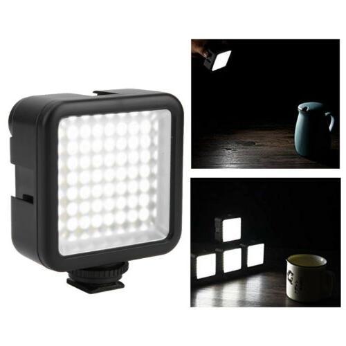 VBESTLIFE 49 Video Light Cam Dimmable Light