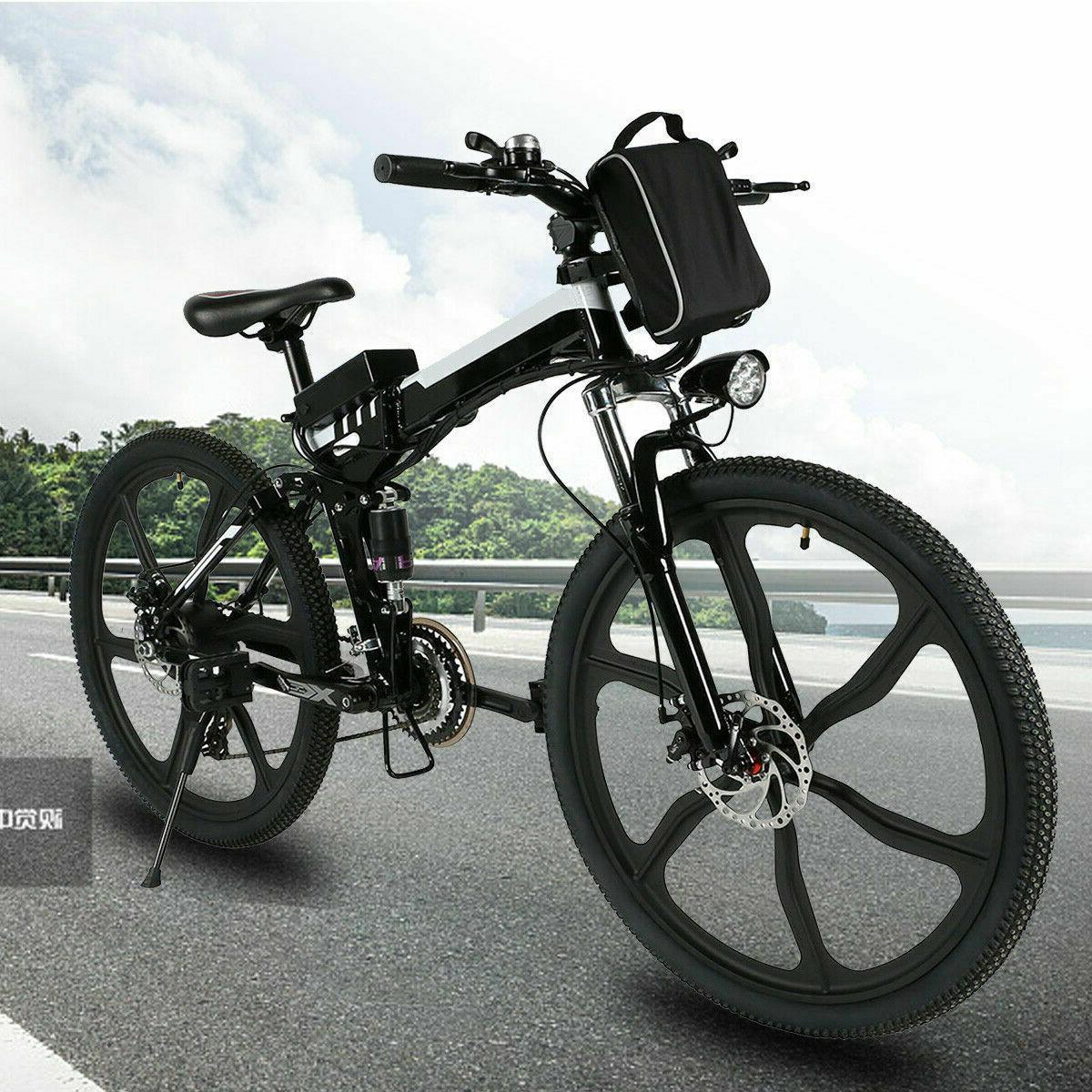 "500 36V 26"" Fat Tire Bike 27 Speed"