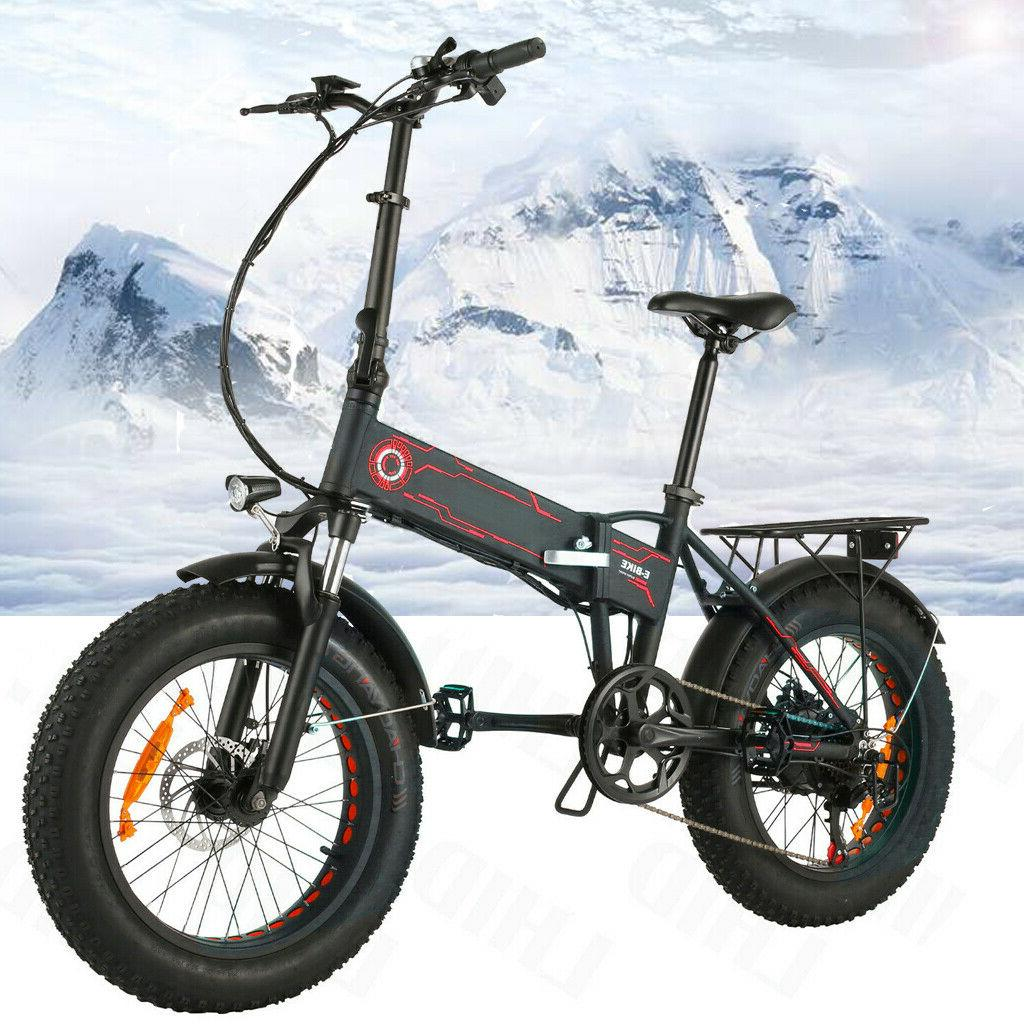 500W Bike -Tire Mountain