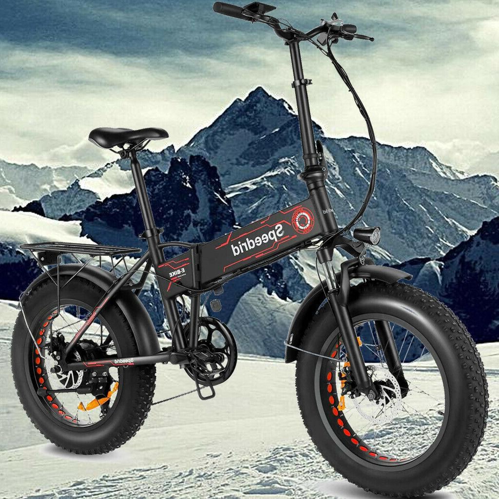 500w 20inch folding electric bike beach snow