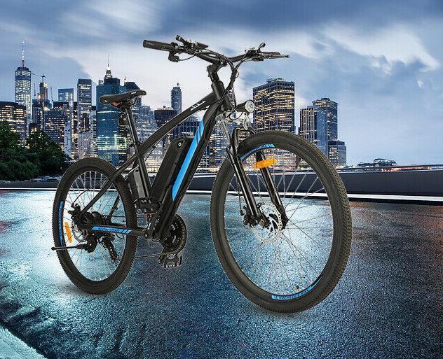 500W 27.5''Electric BikeElectric Mountain Bike Shimano Li-Battery