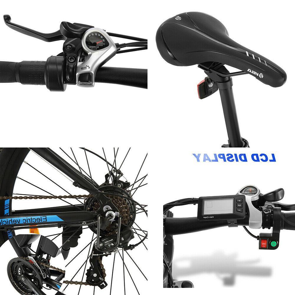 500W 27.5''Electric BikeElectric Bike 10Ah Li-Battery
