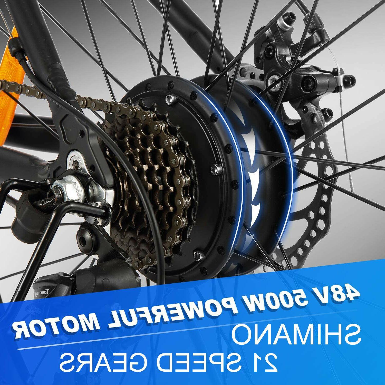 500W BikeElectric Bike Li-Battery