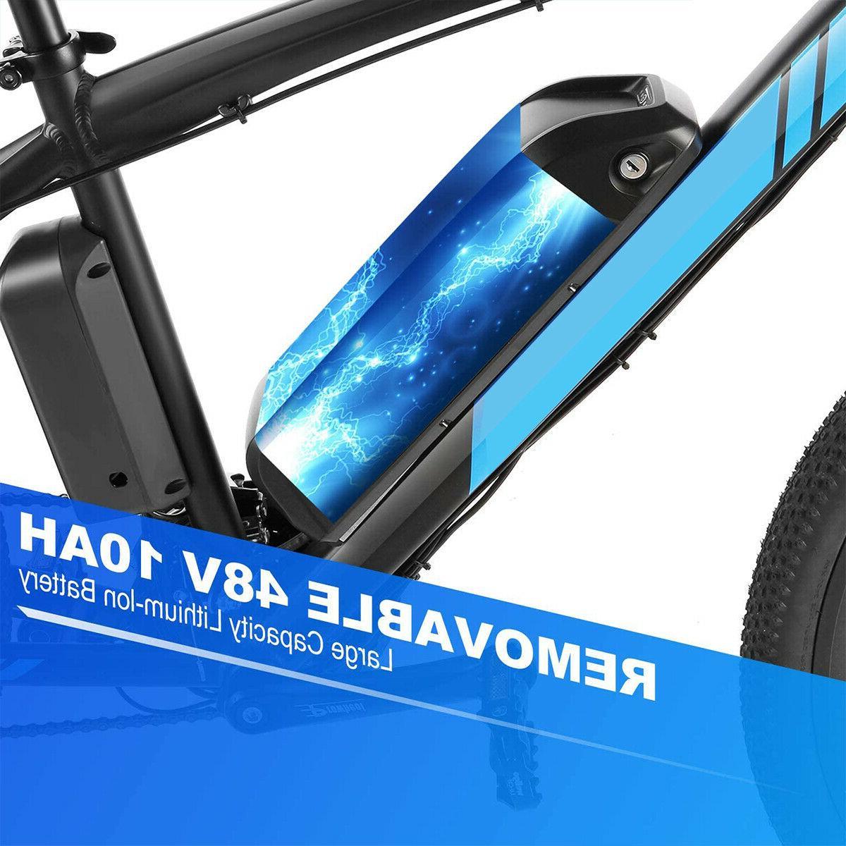 500W Bike Li-Battery