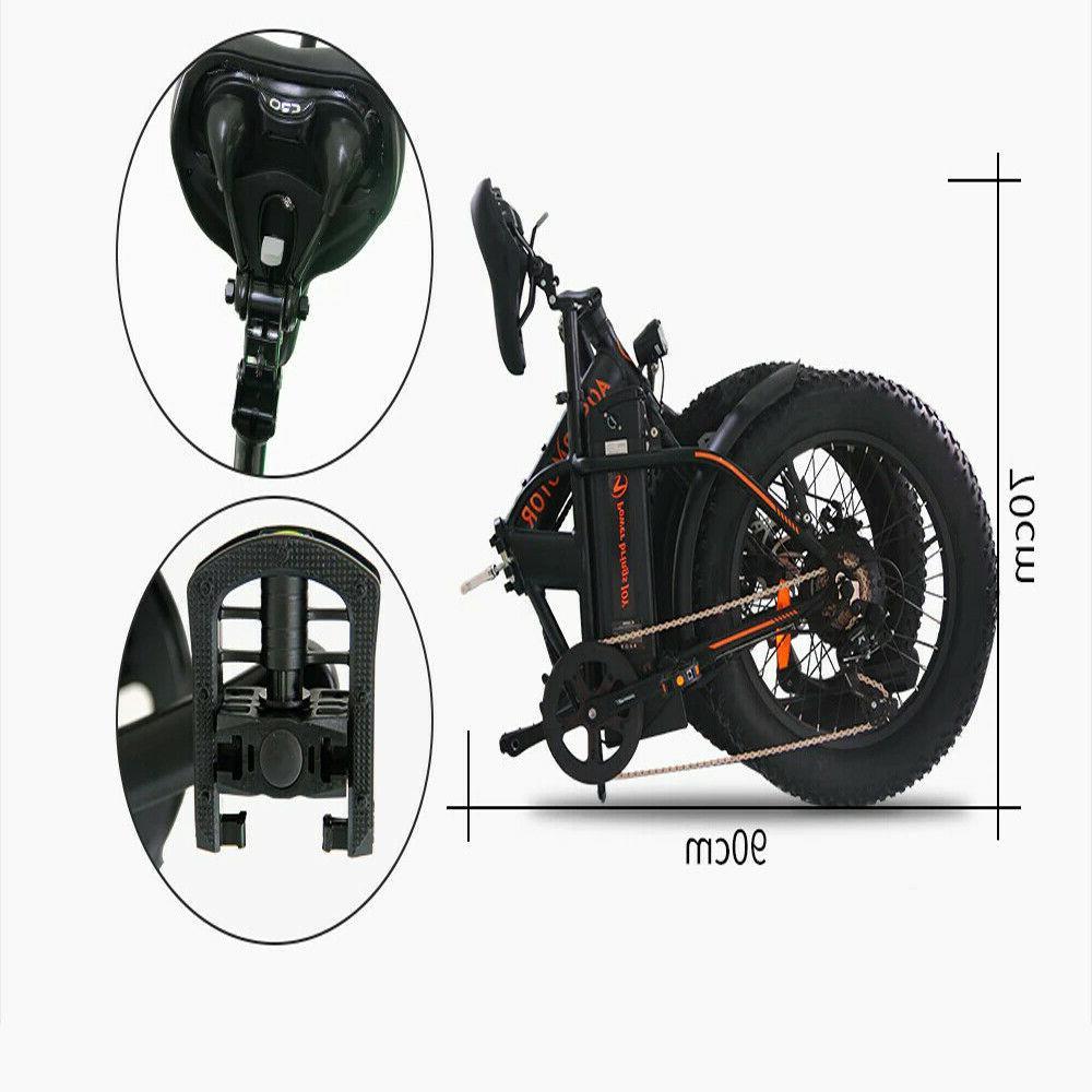 A20 Foldable Beach City Bike 36V