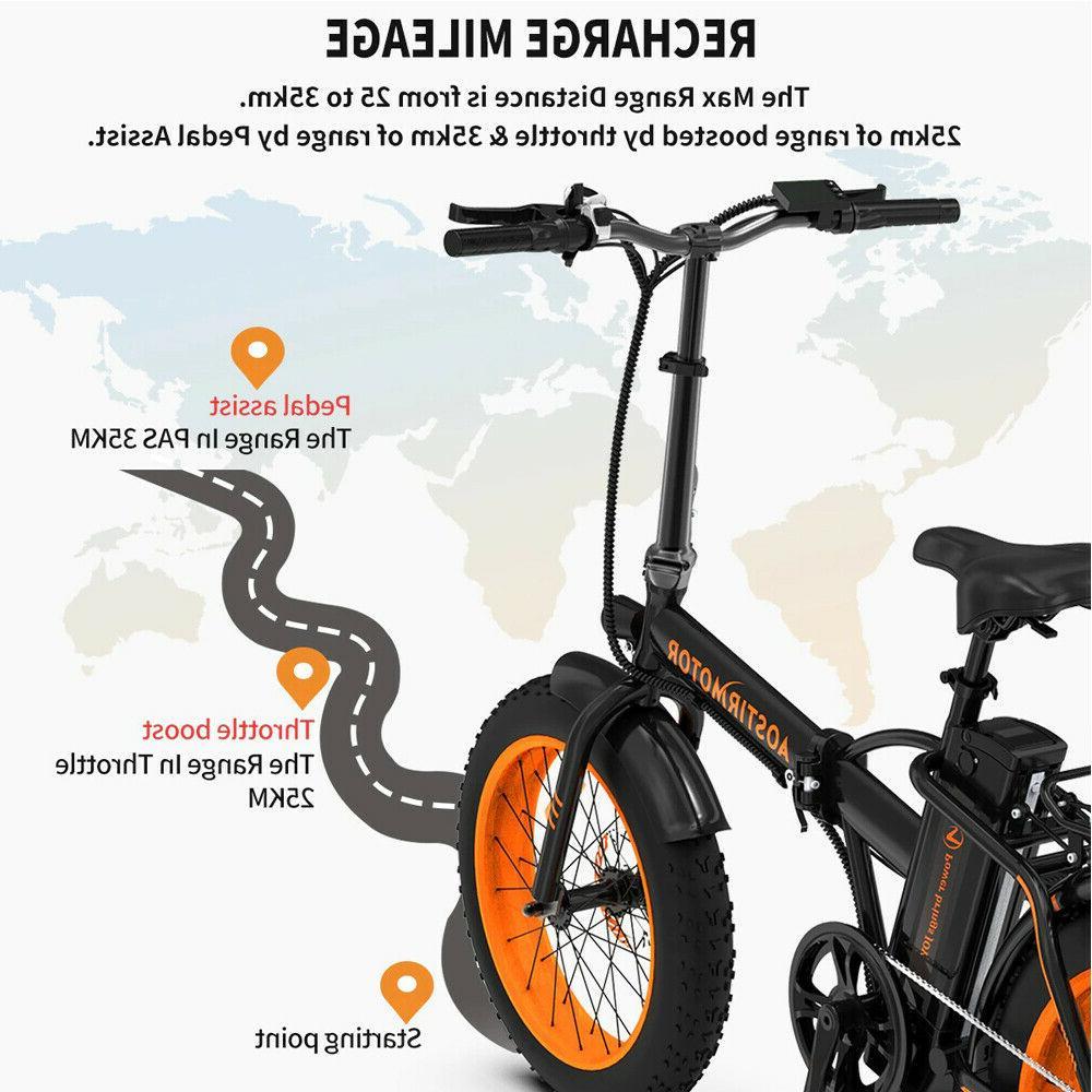 A20 Foldable Ebike Beach Men Bike 36V