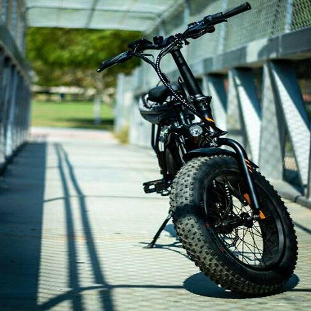 A20 Bike 500W Foldable Ebike Beach Bike