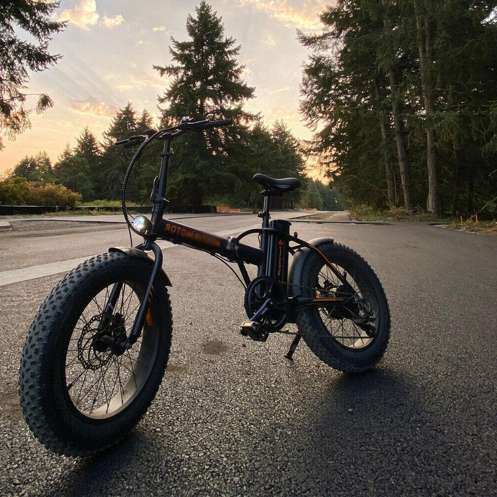 A20 Electric Bike 500W Foldable Beach Men Bike 36V