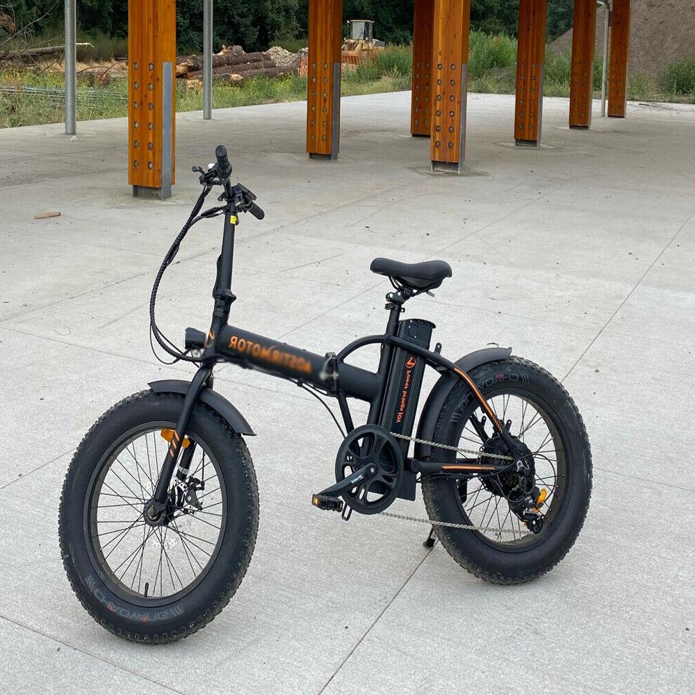 a20 electric bike 500w foldable ebike fat