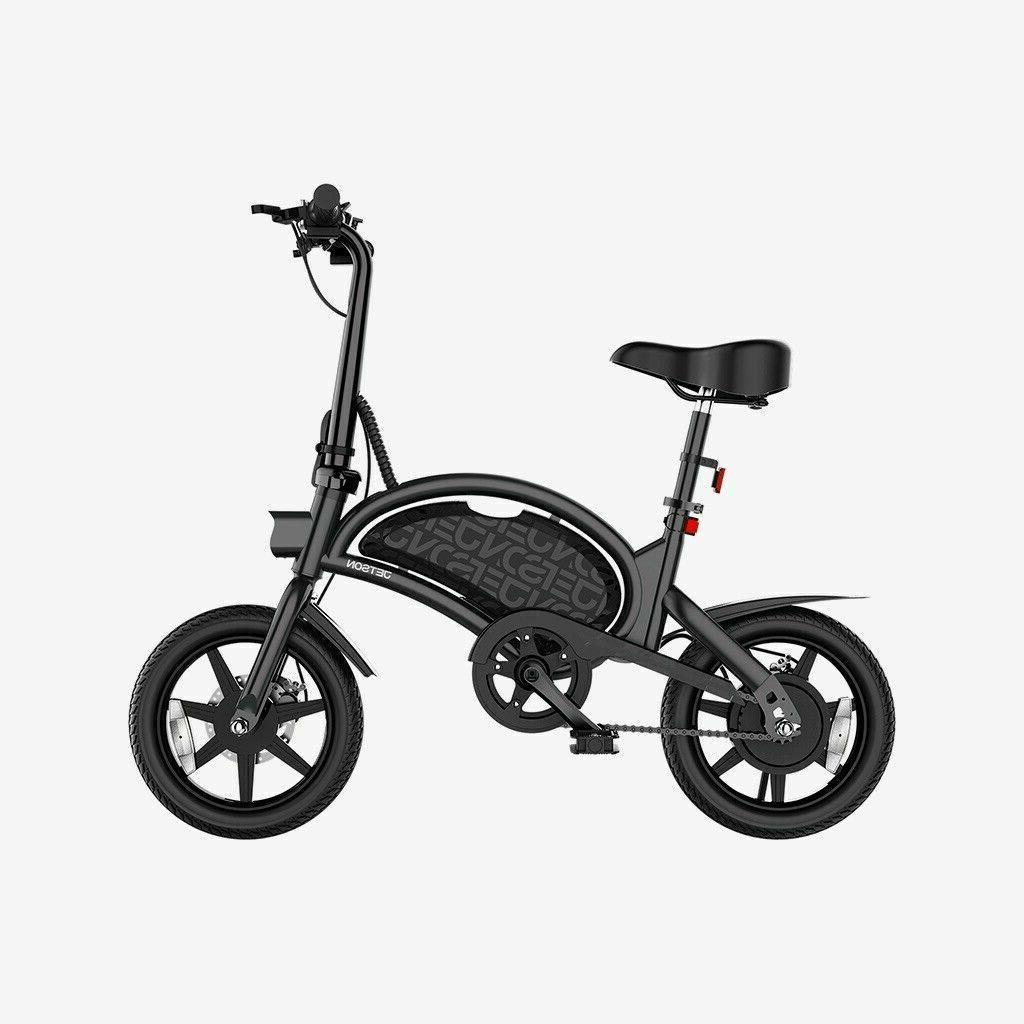 Jetson Bolt folding Electric Ride Bicycle Black BRAND