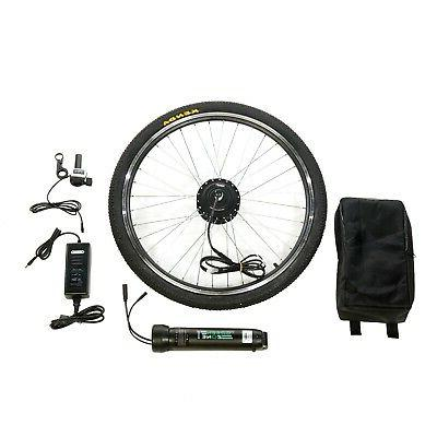COMPLETE FRONT WHEEL E-BIKE CONVERSION KIT INCLUDED!