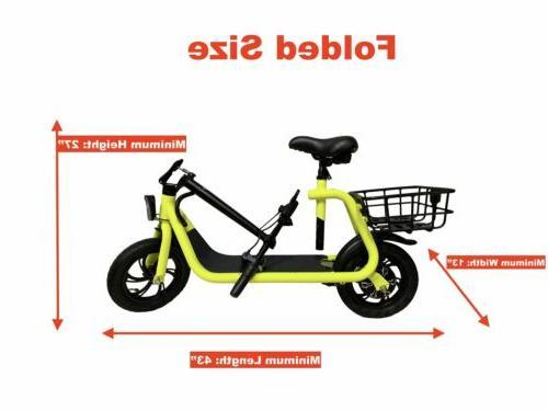 GlareWheel EB-NTEC1 Electric Bike/Scooter   MaxStrata