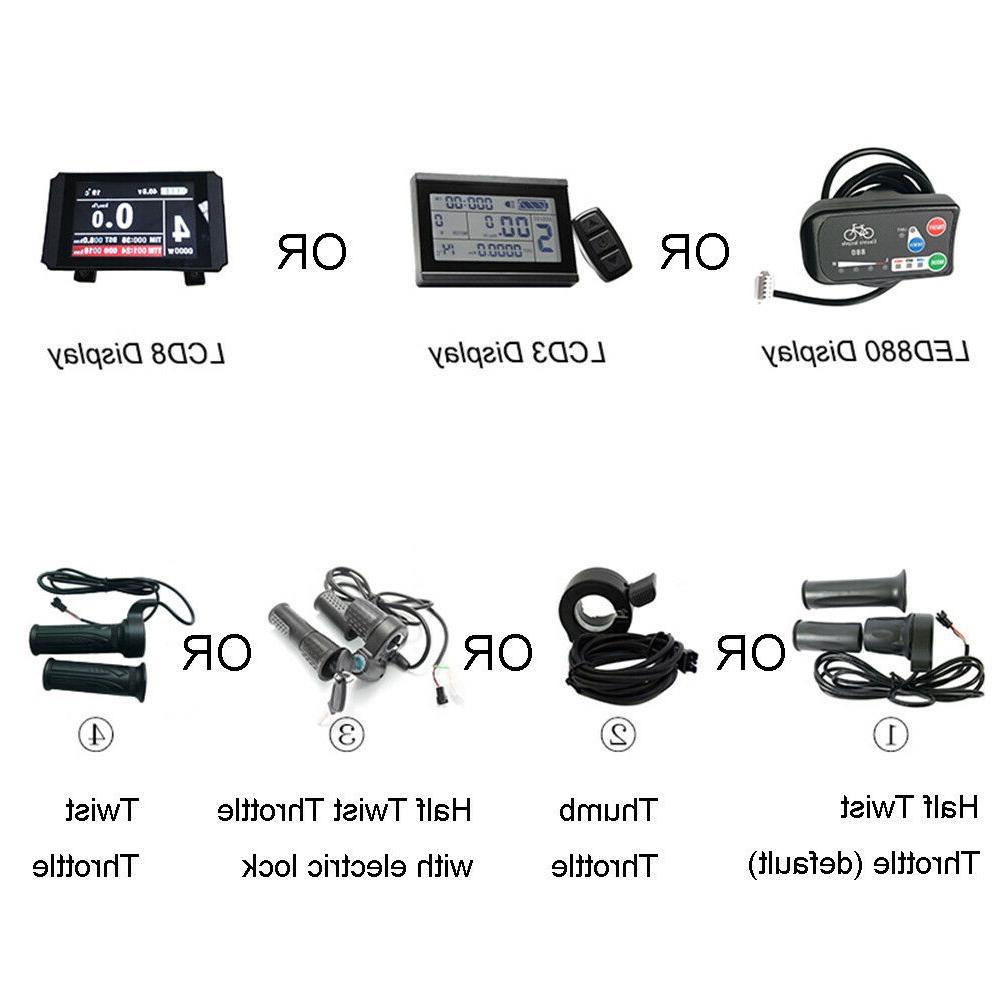 ebike Conversion 1000W Brake Bluetooth motor wheel