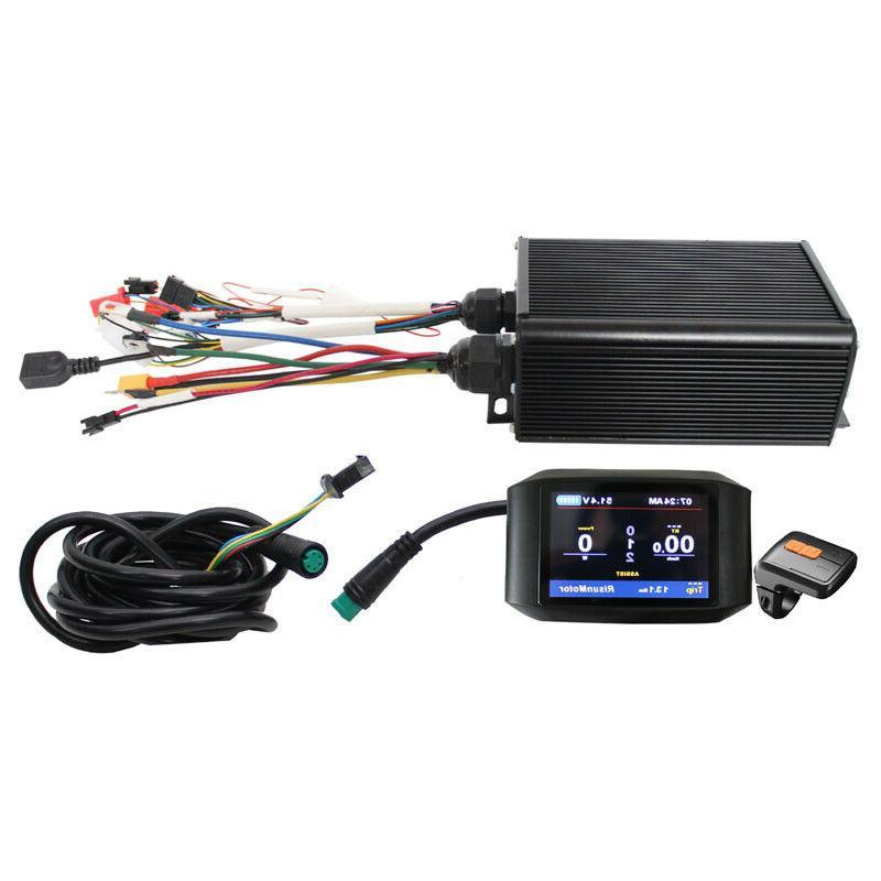 Electric Bike 1000W-2000W LCD +Bluetooth