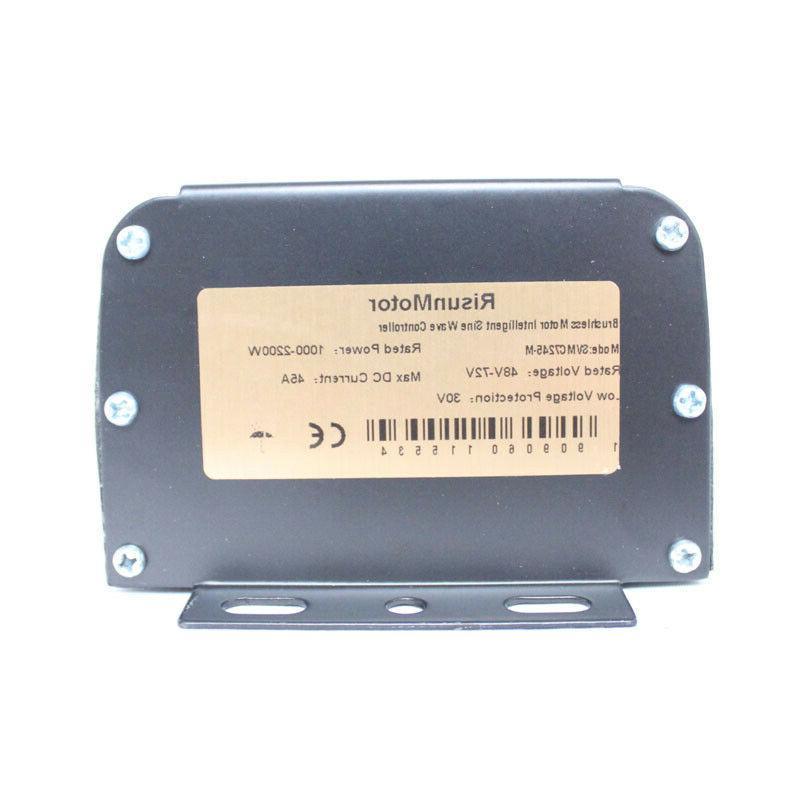 Electric 36-72V 1000W-2000W Controller+ LCD +Bluetooth