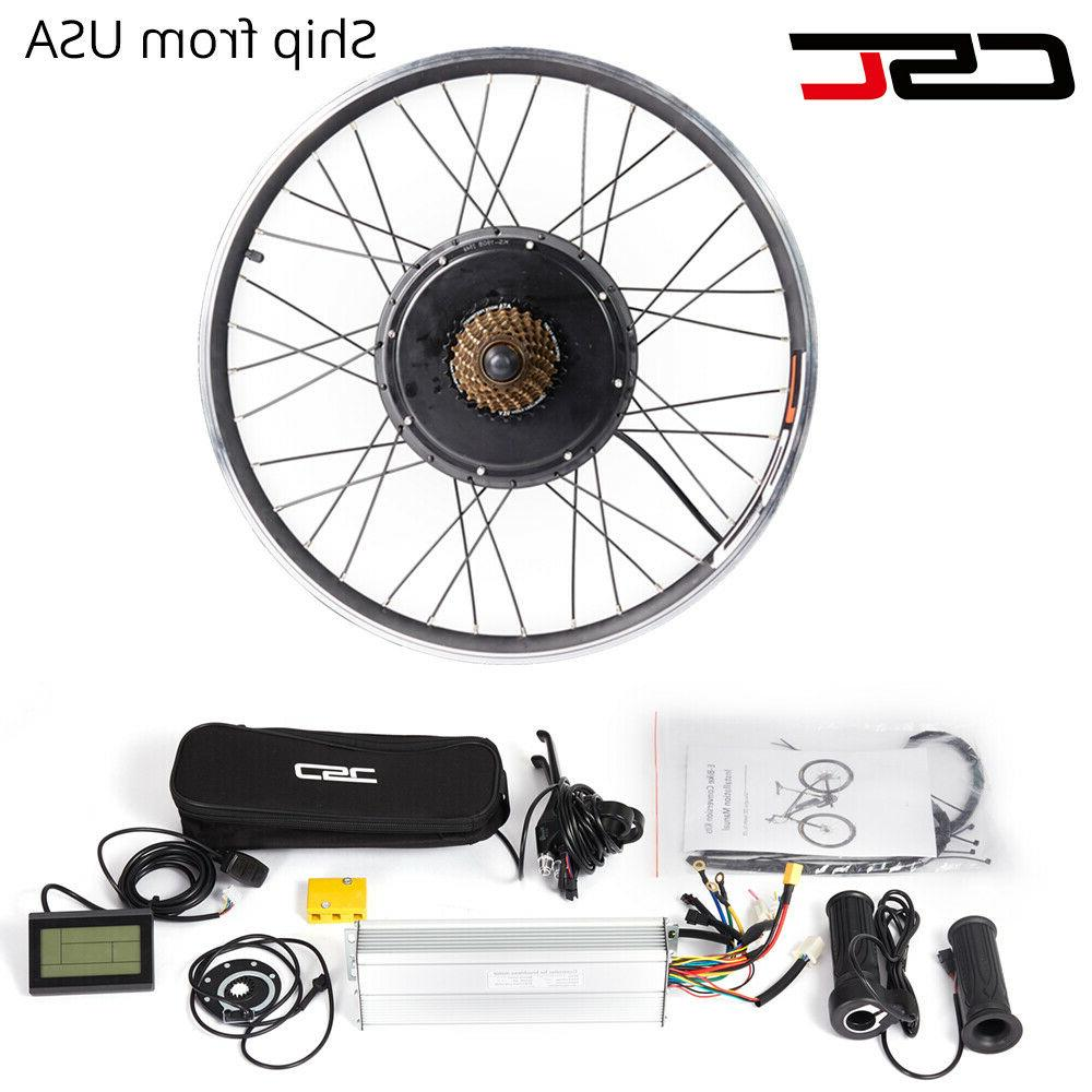 48v 1500w electric bike conversion kit 26