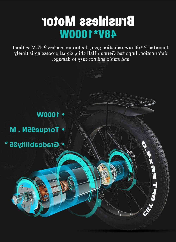 Electric 1000 watts, 60km