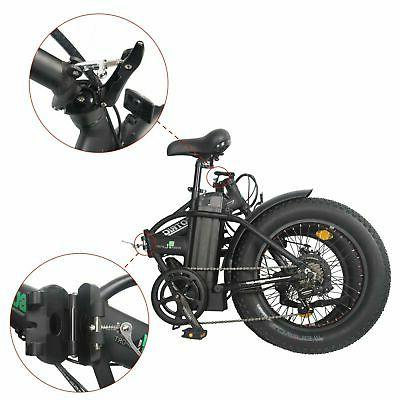 "Folding 20"" 500W Electric E Ebike"