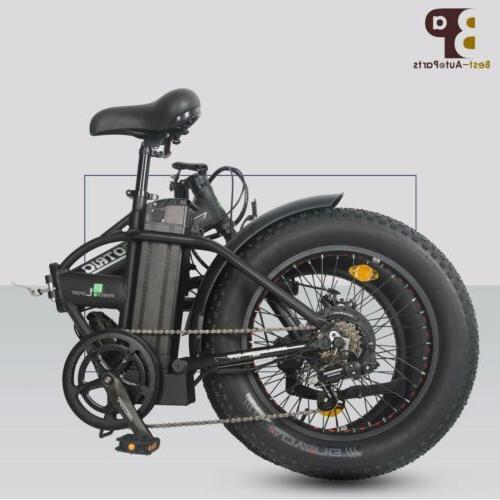Folding 500W Electric E Ebike