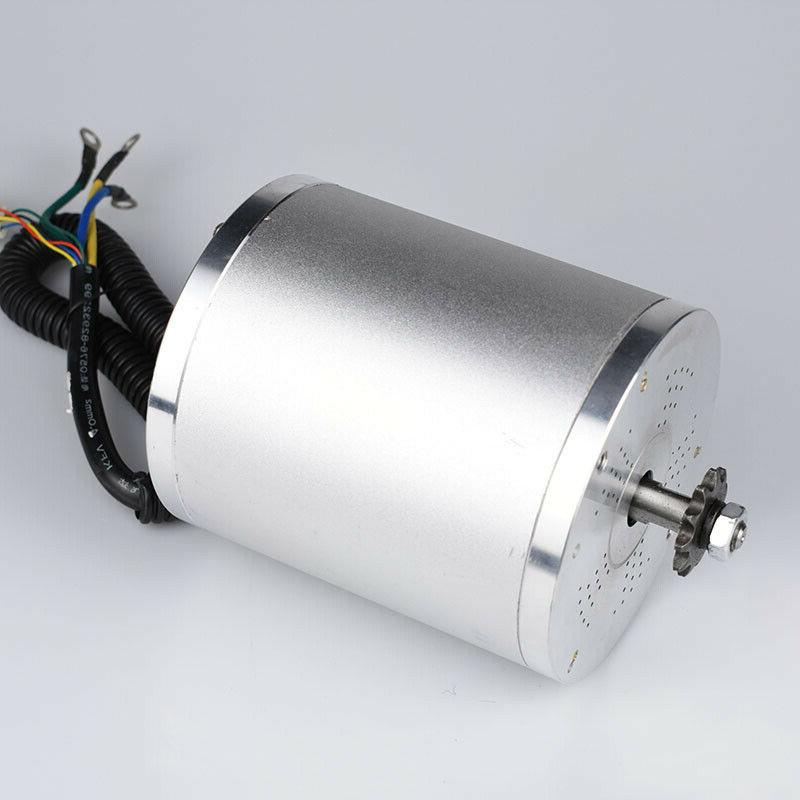 Electric Scooter Bicycle BLDC 72V 3000W Motor For