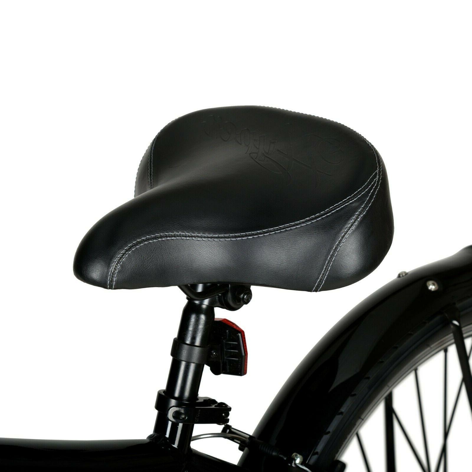 "Men's Electric 26"" Wheels Pedal Adult E-Bike Black"