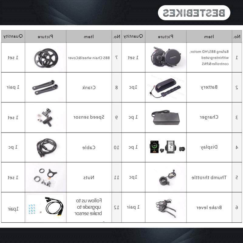 Bafang BBS02 48V <font><b>electric</b></font> conversion battery