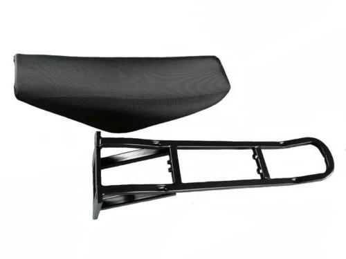 motorcycle style seat for stealth bomber electric