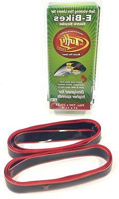 MR TUFFY ELECTRIC BIKE BICYCLE TIRE LINER RED 700C X 20-25 A