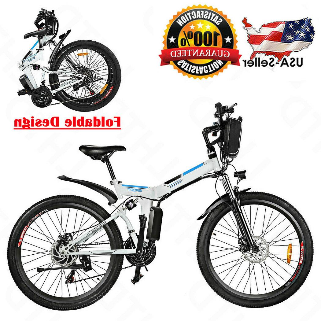 new 26 folding electric mountain bike 8ah
