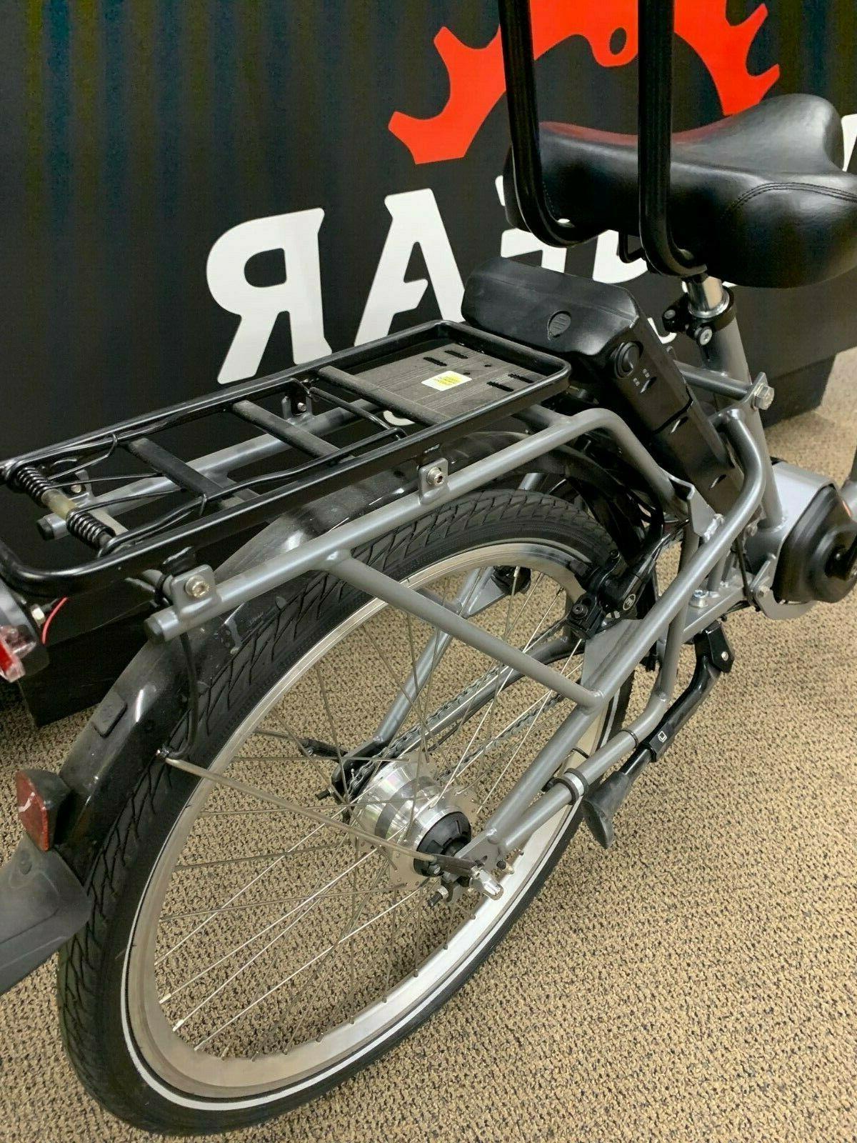 P-Tec Low Step-Thru, 24 Wheels, Bafang Mid-Drive