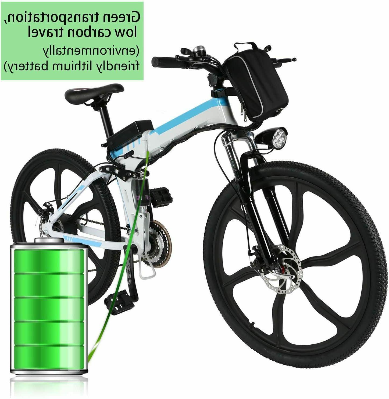 Pro Electric Mountain Bike Shimano Gears