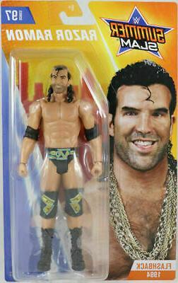Razor Ramon WWE Mattel Basic Series 97 Action Figure NEW