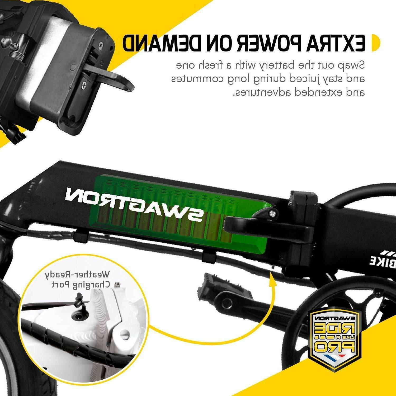 Swagcycle Electric Bike w/