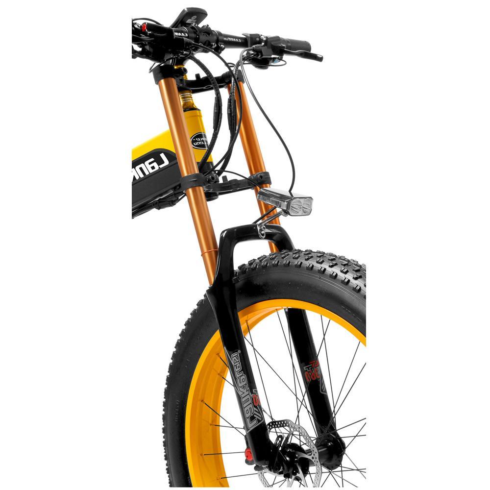 T750Plus Folding <font><b>Electric</b></font> <font><b>Bike</b></font>, 48V Powerful Motor Pedal Assist