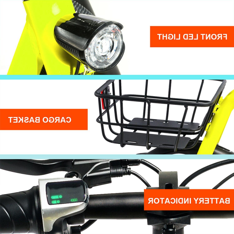 Electric Bike Bicycle 350W Motor Lithium EBike